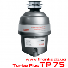 Измельчитель пищевых отходов TURBO PLUS TP-75