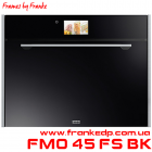 Компактный пиролитический духовой шкаф FMO 45 FS BK
