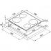 Индукционная варочная поверхность FH FS 584 BK