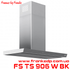Пристенная вытяжка FRANKE, серия FRAMES BY FFANKE, FS TS 906 W BK