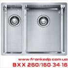 мойка FRANKE, серия BOX, BXX 260|160-34-16
