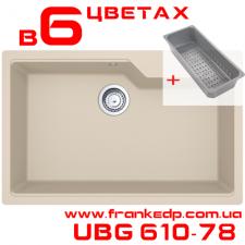 Мойка Franke UBG 610-78