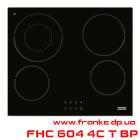Электрическая варочная поверхность FHC 604 4С T BP