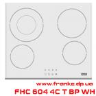 Электрическая варочная поверхность FHC 604 4C T BP WH