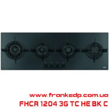 Газовая поверхность FRANKE FHCR 1204 3G TC HE BK C