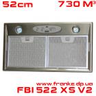 Встраиваемая вытяжка Franke FBI 522 XS V2
