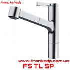 Смеситель с выдвижным изливом Franke, серия Frames By Franke, FS TL SP