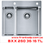мойка FRANKE, серия BOX, BXX 260 36-16 TL