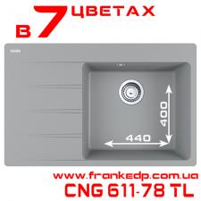 Мойка Franke CNG 611-78TL