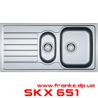 Мойка Franke Spark SKX 651