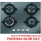 Газовая варочная поверхность FRANKE FHCR 604 4G HE XS C