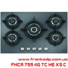 Газовая варочная поверхность FRANKE FHCR 755 4G TC HE XS C