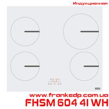 Индукционная варочная поверхность FHSM 604 4I WH