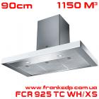 Вытяжка Franke, серия CRYSTAL, FCR 925 TC WH XS