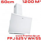 Кухонная вытяжка Franke, серия Evo Plus, FPJ 625 V WH/SS